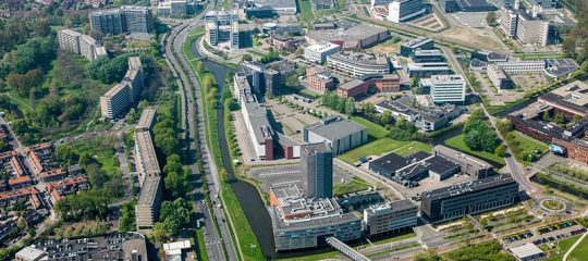 Positive economic figures for Leiden region