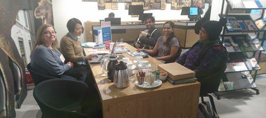 Drukte van belang bij Expat Centre Leiden