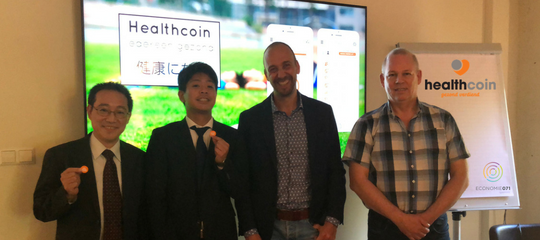 Interesse uit Japan voor vitaliteitsaanpak Leidse regio met Healthcoin