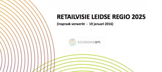 Bespreking Retailvisie Leidse regio in raadscommissies en gemeenteraden
