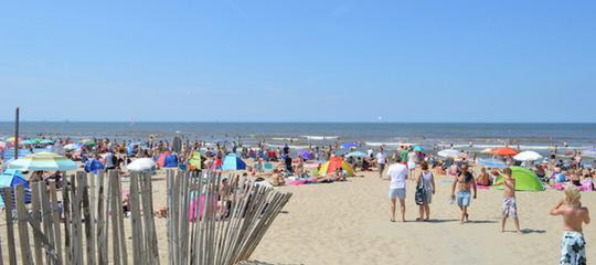 Slimme sensoren vinden kinderen terug op Katwijks strand