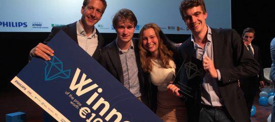 Jonge ondernemers winnen award