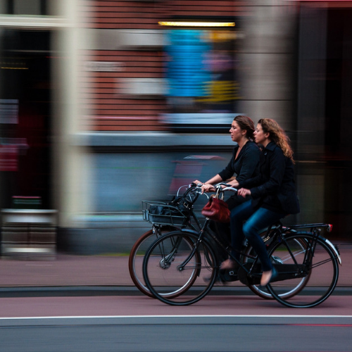 Ontwikkeling fietsgebruik in en rondom Leiden