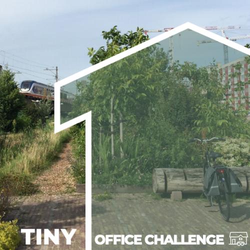 Bouw je eigen Tiny Office in Leiden