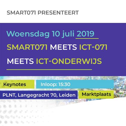 Programma Smart071 meets 071-ICT meets ICT-onderwijs