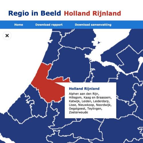 De arbeidsmarkt van Holland Rijnland in beeld