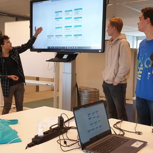 Ontwikkel je website of app met studenten van mboRijnland!