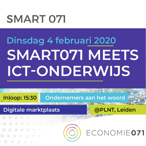 Smart071 meets ICT-onderwijs op 4 februari