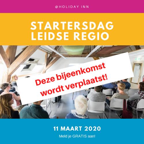 VERPLAATST – Maak een succesvolle start met je bedrijf op 11 maart