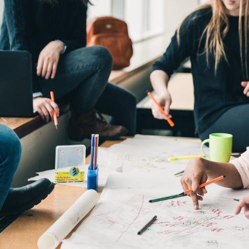 CE'ers Hogeschool Leiden zoeken sustainable afstudeeropdrachten