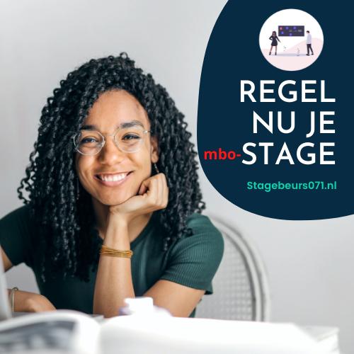 Veel aanmeldingen voor online Stagebeurs071